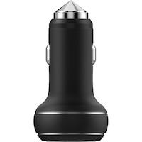 Devia Thor Autós töltő, 2.4A, Dual USB, Fekete