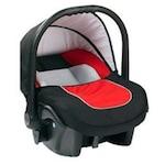 Кошче за кола Baby Merc Leo, 0-10 кг,Черно/Червено
