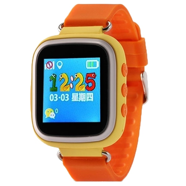 Fotografie Ceas Smartwatch copii iUni Kid90, Telefon incorporat, GPS, Buton SOS, Orange