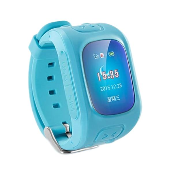 Fotografie Ceas Smartwatch copii iUni U6, Localizare Wi-Fi, GPS, Apel SOS, Pedometru, Monitorizare somn, Blue