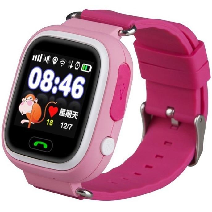 Cellect KIDSWATCH Q90 pink gyermek okosóra GPS sel