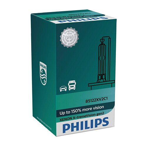 Fotografie Bec auto Xenon pentru far Philips D1S Extreme Vision, 85V, 35W, 1 Buc