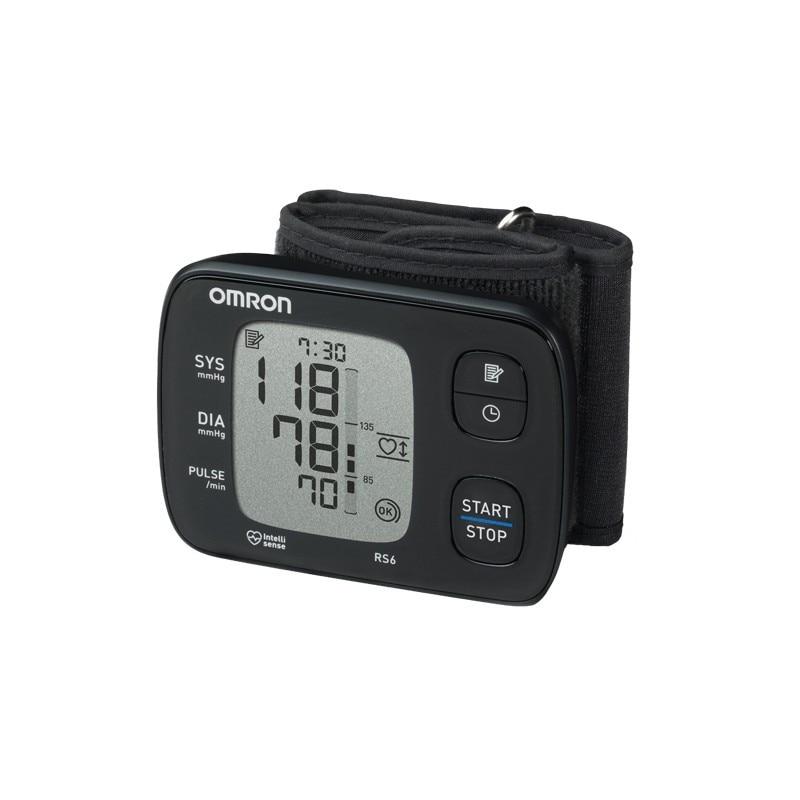 Апарат за кръвно налягане за китка Omron RS6 - eMAG.bg