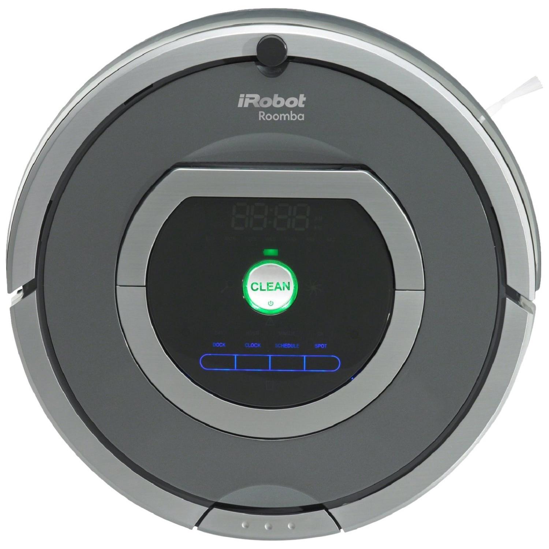 Fotografie Robot de aspirare iRobot Roomba 782e, 42 senzori, Dual AeroVac, WallFollow, Baterie Xlife, Perete Virtual, Negru
