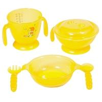 Potato 6 db-os műanyag baba étkészlet, gyerek étkészlet, ajándék