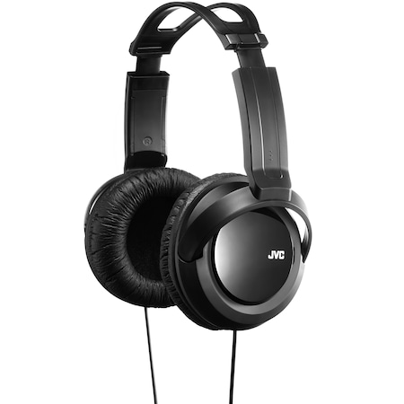 Слушалки JVC HA-RX330, тип DJ, Черни