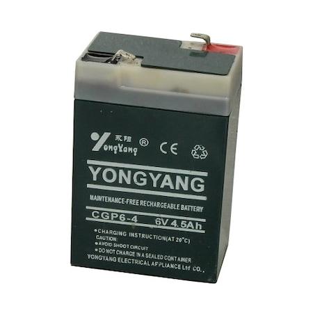 Gyermekmotorba, kisautóba való ÚJ akkumulátor / CGP6-4 6V 4,5 Ah