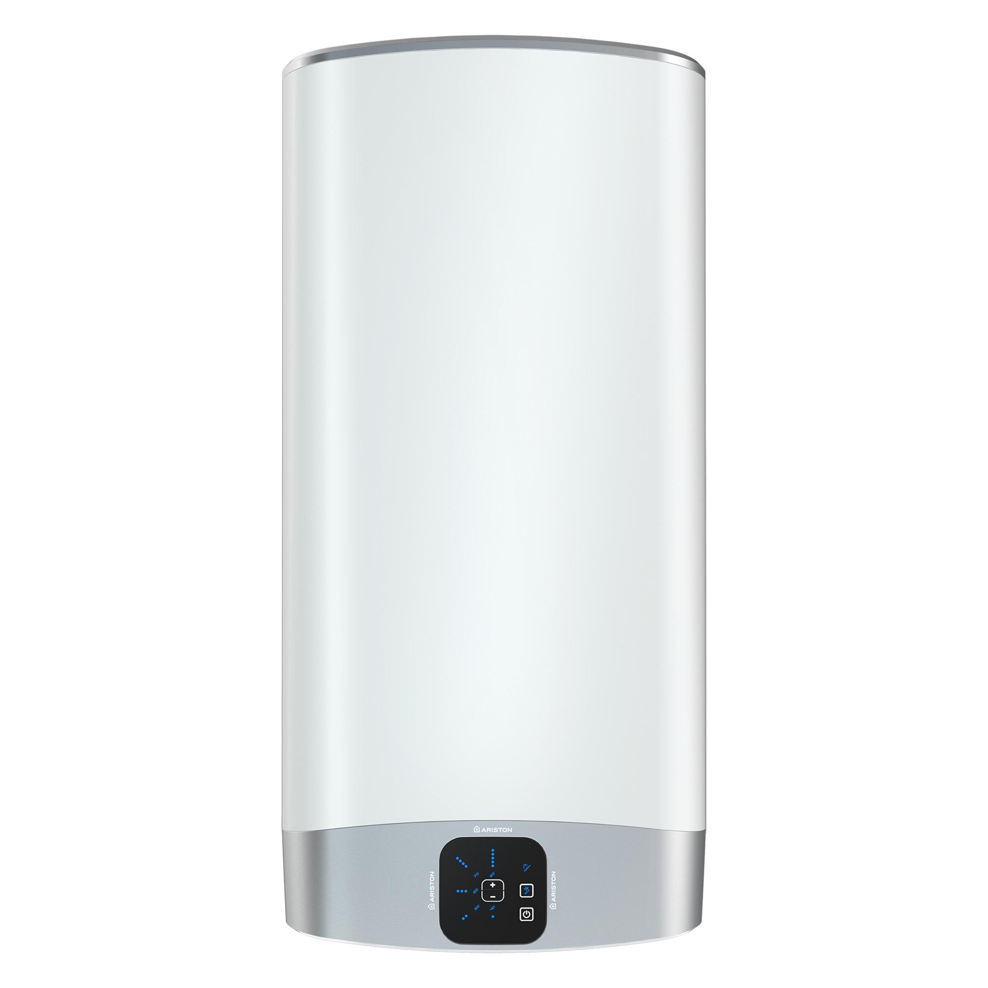 Fotografie Boiler electric Ariston Velis Evo 80 EU, 2 x 1500 W, 80 l, 0.8 Mpa, Functie ECO EVO, Izolatie termica, Doua rezervoare, Protectie electrica IPX4, Instalare V/O