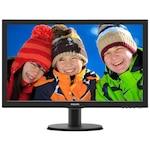 """Монитор Philips 23.6"""", Full HD, VGA, DVI, Черен, 243V5QHABA"""