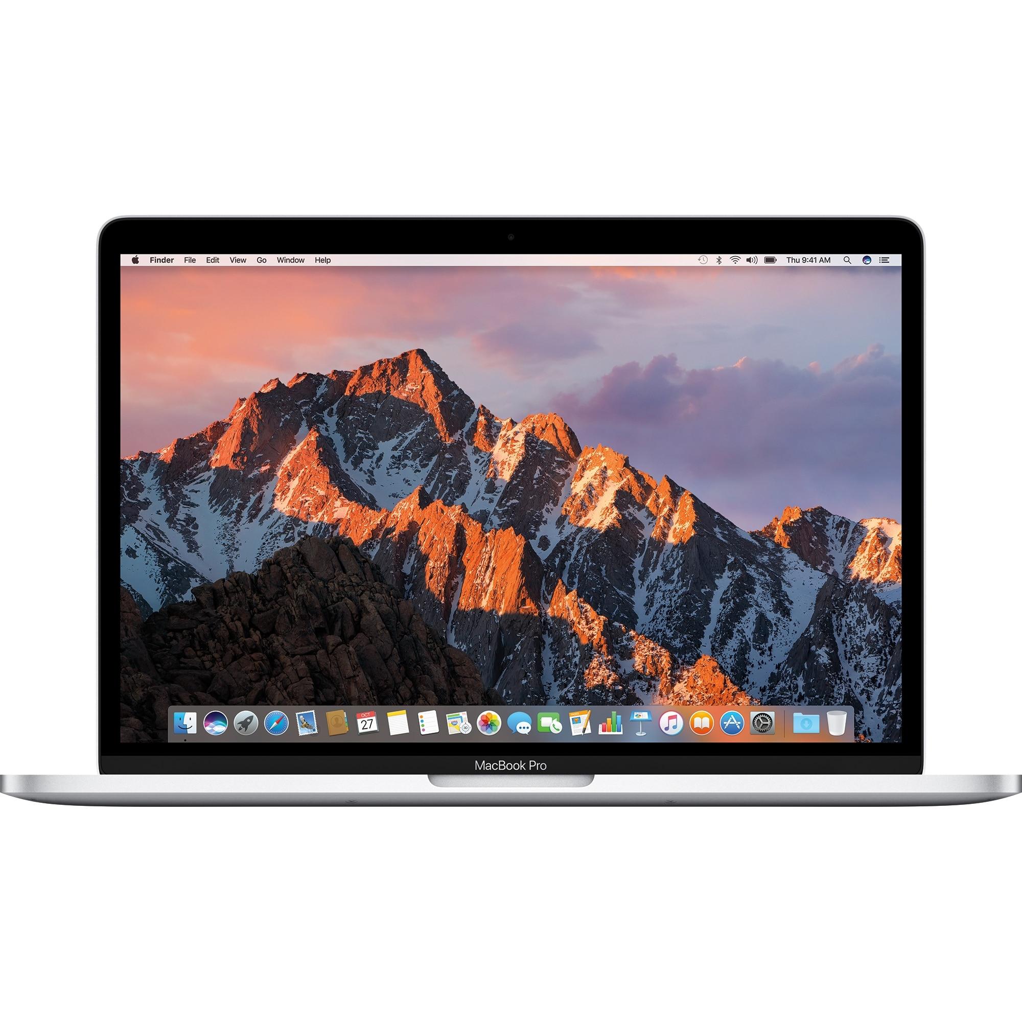 "Fotografie Laptop Apple MacBook Pro 13 cu procesor Intel® Dual Core™ i5 2.30GHz, 13.3"", Ecran Retina, 8GB, 128GB SSD, Intel® Iris Plus Graphics 640, macOS Sierra, INT KB, Silver"