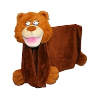 Плюшена играчка - Одеало Cuddle Uppets, Mечка, Играчка и одеало 2 в 1, 856021