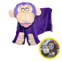 Плюшена играчка - Одеало Cuddle Uppets, Маймуна, играчка и одеало 2 в 1, 856038