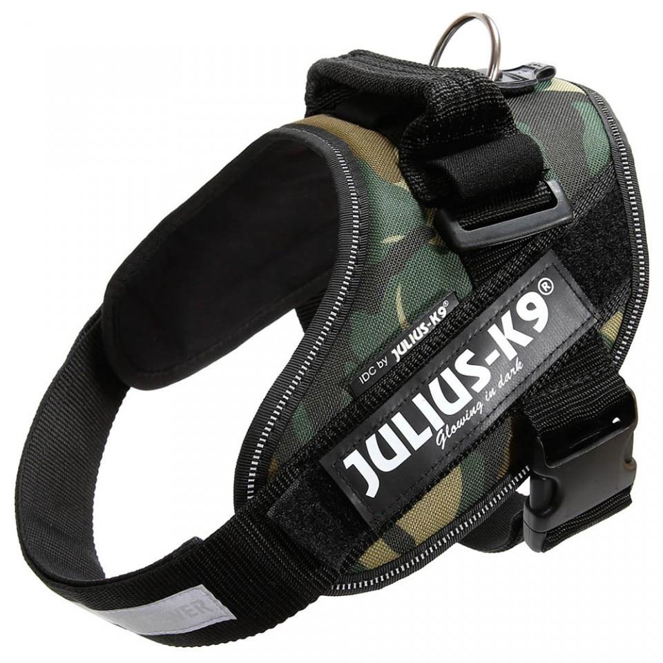 Fotografie Ham IDC Power pentru caini Julius K9, Talie medie, 14-25 kg, Camuflaj