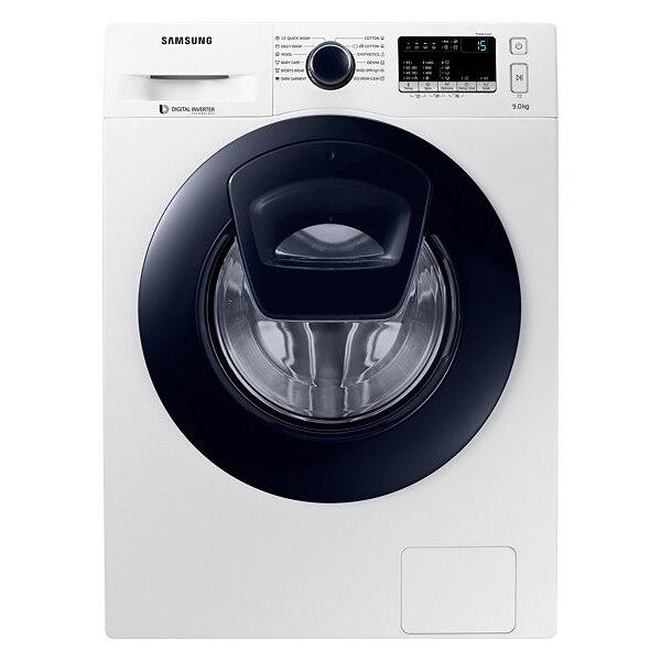 Fotografie Masina de spalat rufe Samsung Add-Wash WW90K44305W/LE, 9 kg, 1400 RPM, Clasa A+++, Motor Digital Inverter, Alb