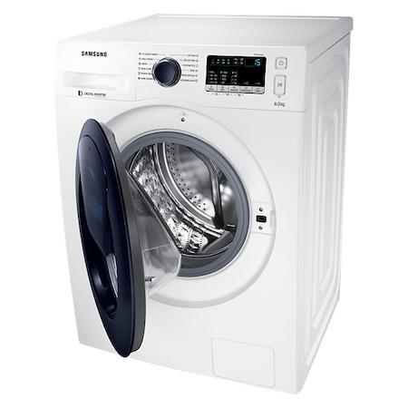 Masina de spalat rufe Samsung WW80K44305W/LE, 8 kg, 1400 RPM, A+++, Add Wash, Motor inverter, 60 cm, Alb