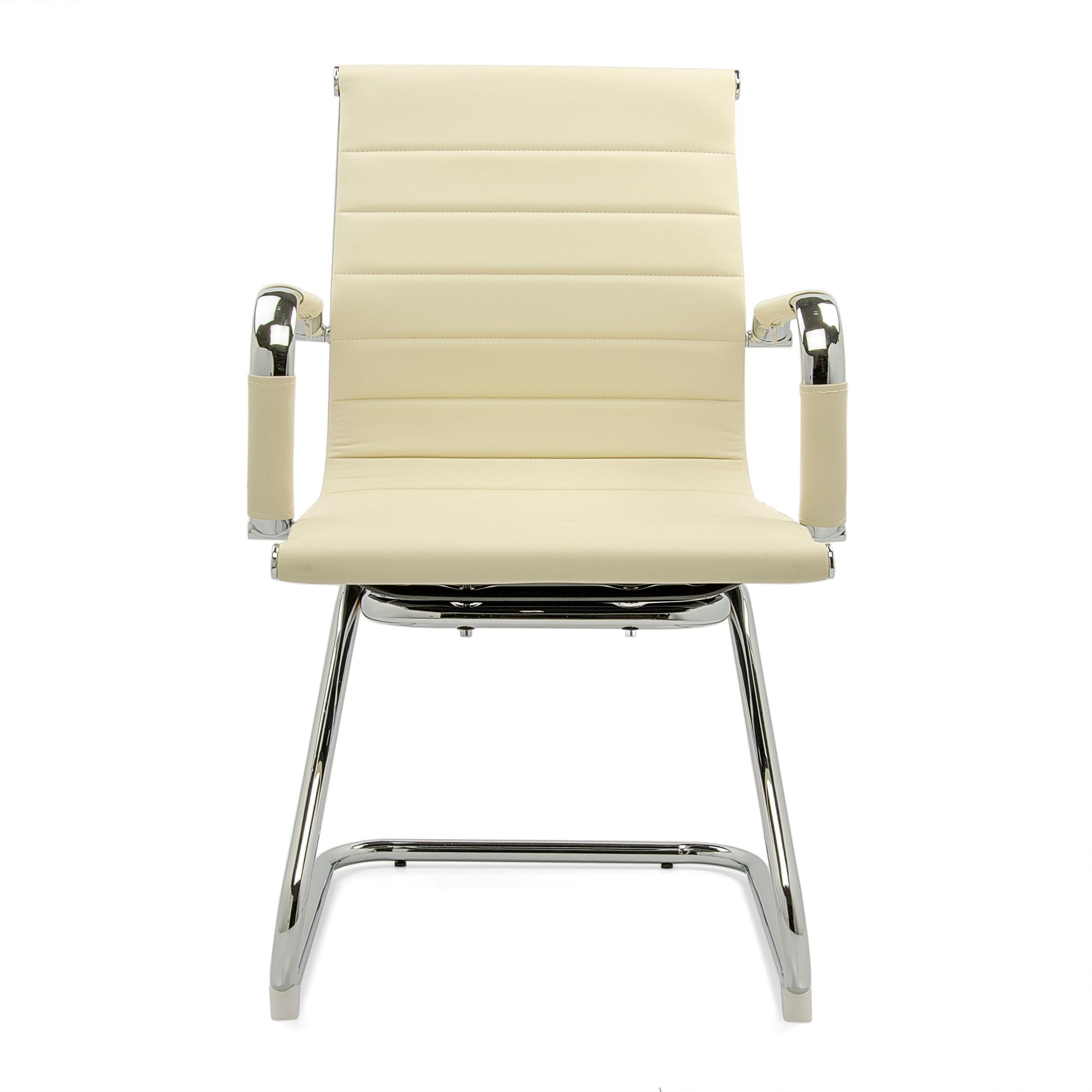 Kring Lear Látogatói szék, 2 darab, Műbőr, Bézs eMAG.hu