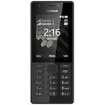Мобилен телефон Nokia 216, Dual Sim, Black