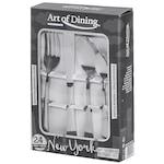 Heinner New York Art of Dining 24 részes evőeszközkészlet