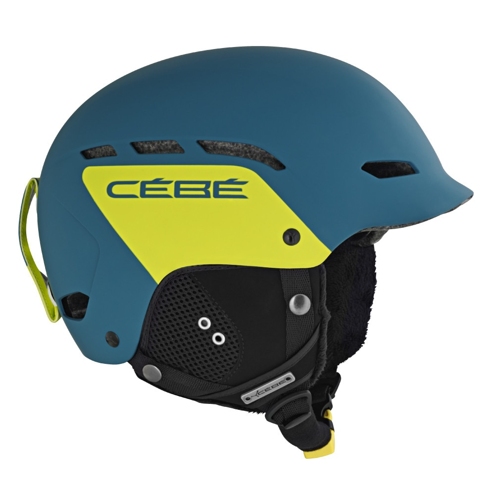 Fotografie Casca ski Cebe Dusk, Verde/Galben, 55-58