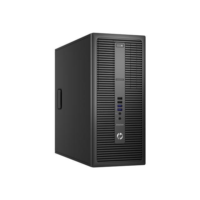 Fotografie Sistem Desktop PC HP EliteDesk 800 G2 Tower cu procesor Intel® Core™ i3-6100 3.70 GHz, Skylake™, 4GB, 500GB, DVD-RW, Intel® HD Graphics 530, Microsoft Windows 7 Pro + Windows 10 Pro, Mouse + Tastatura
