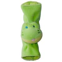 Biztonsági övre szerelhető játék - Béka (zöld)