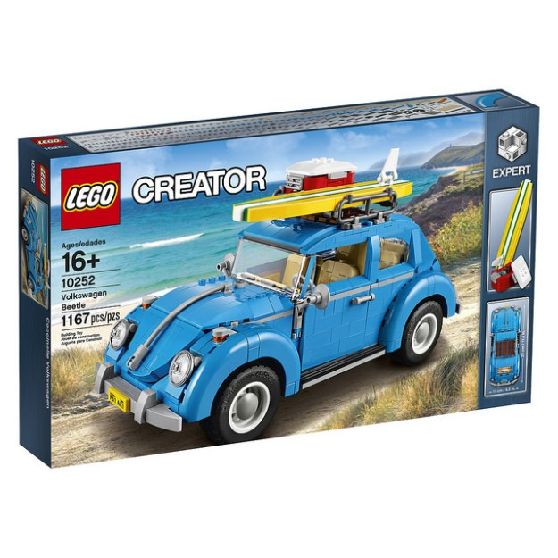 Fotografie LEGO Creator Expert - Volkswagen Beetle 10252