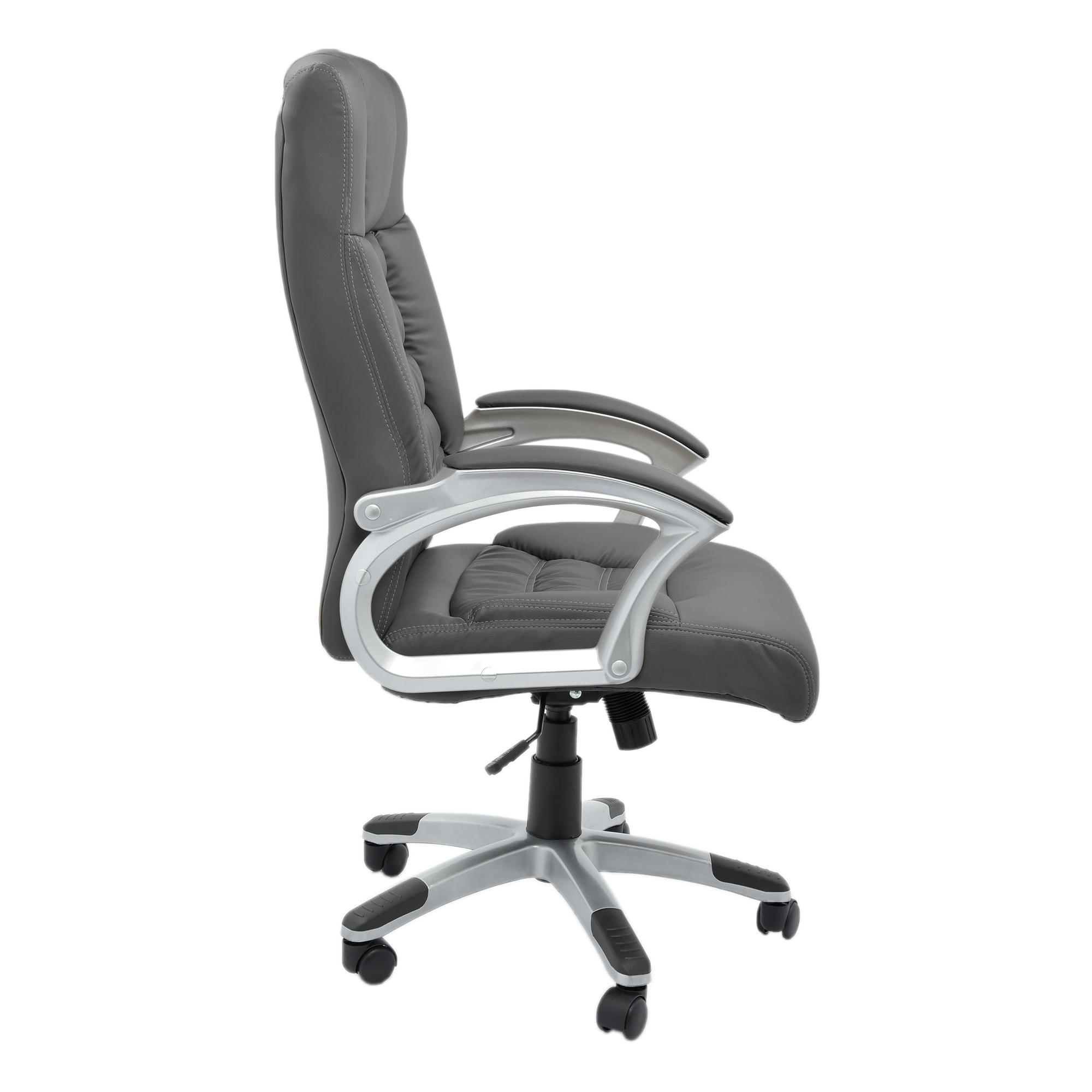 Kring Bokai Ergonomikus irodai szék, Műbőr, Világosszürke eMAG.hu