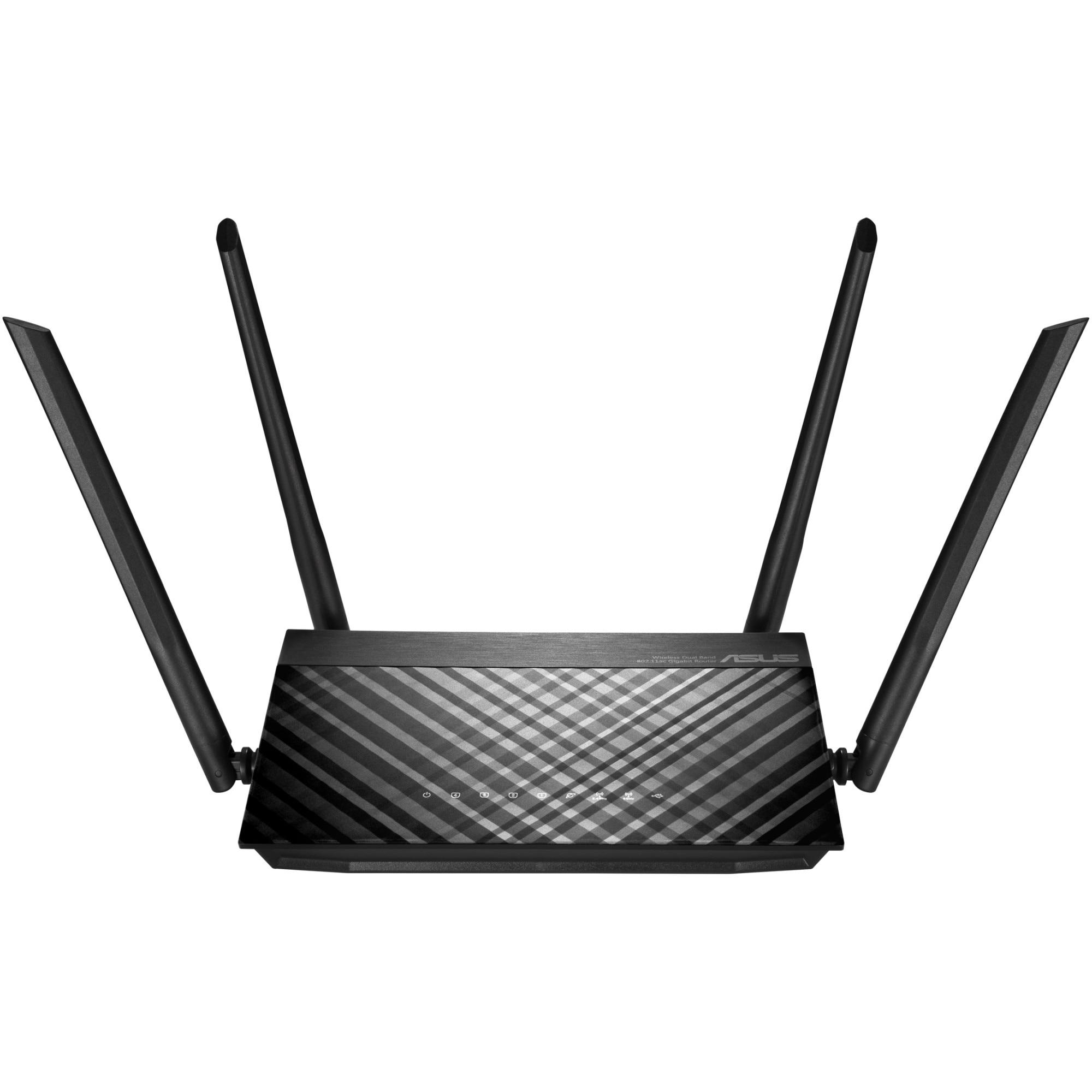Fotografie Router ASUS RT-AC58U, AC1300, Gigabit, USB 2.0