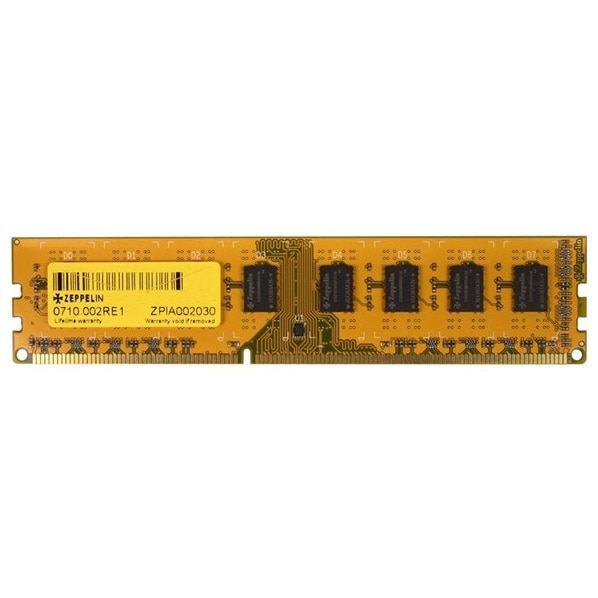 Fotografie Memorie Zeppelin 4GB, DDR3, 1333MHz, Non-ECC