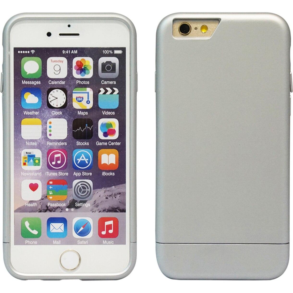 Fotografie Husa de protectie A+ Case Strong, pentru iPhone 6 Plus, Argintiu