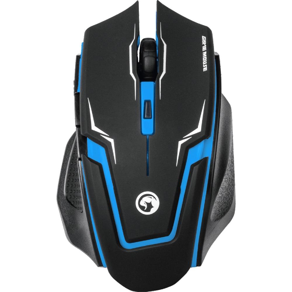 Fotografie Mouse Gaming Marvo M319, Blue
