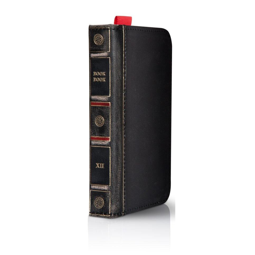 Fotografie Husa de protectie Twelvesouth Bookbook pentru iPhone 5/5S, Black