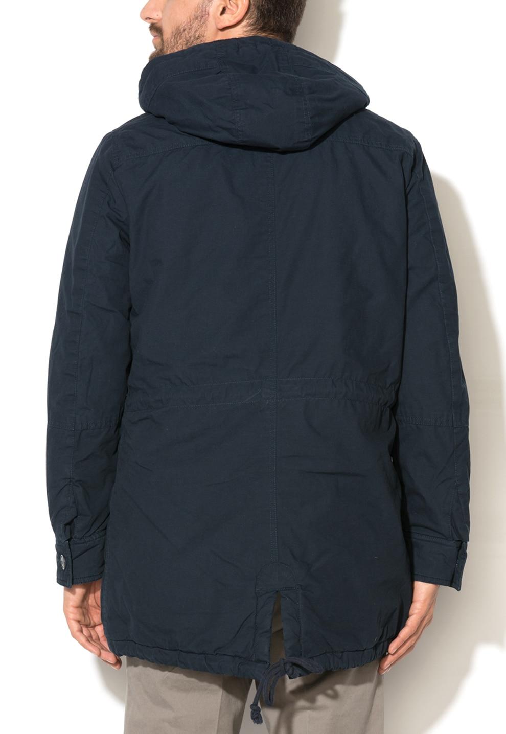 Normál fazonú kapucnis dzseki United Colors of Benetton