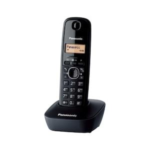 Безжичен телефон DECT Panasonic KX-TG1611FXH, Caller ID, Black
