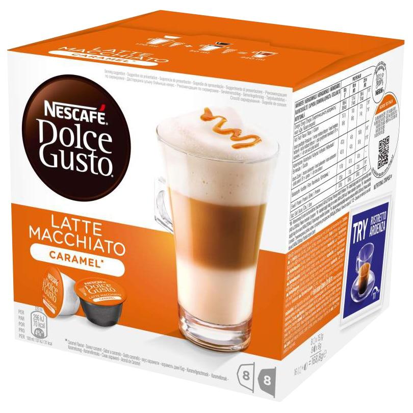 NESCAFÉ Dolce Gusto Latte Macchiato karamell, 3 csomag