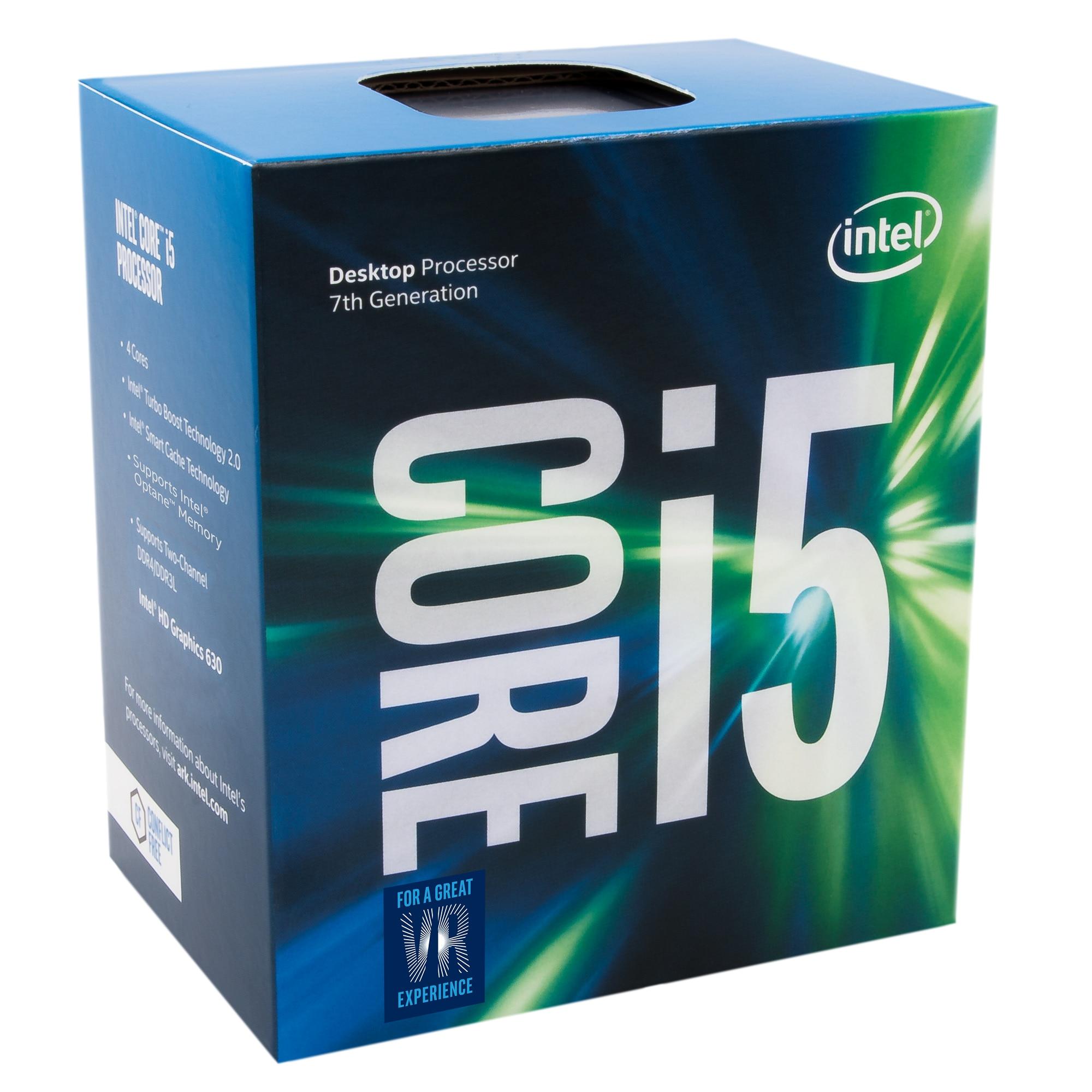 Fotografie Procesor Intel Core™ i5-7400, 3.00Ghz, Kaby Lake, 6MB, Socket 1151, BOX