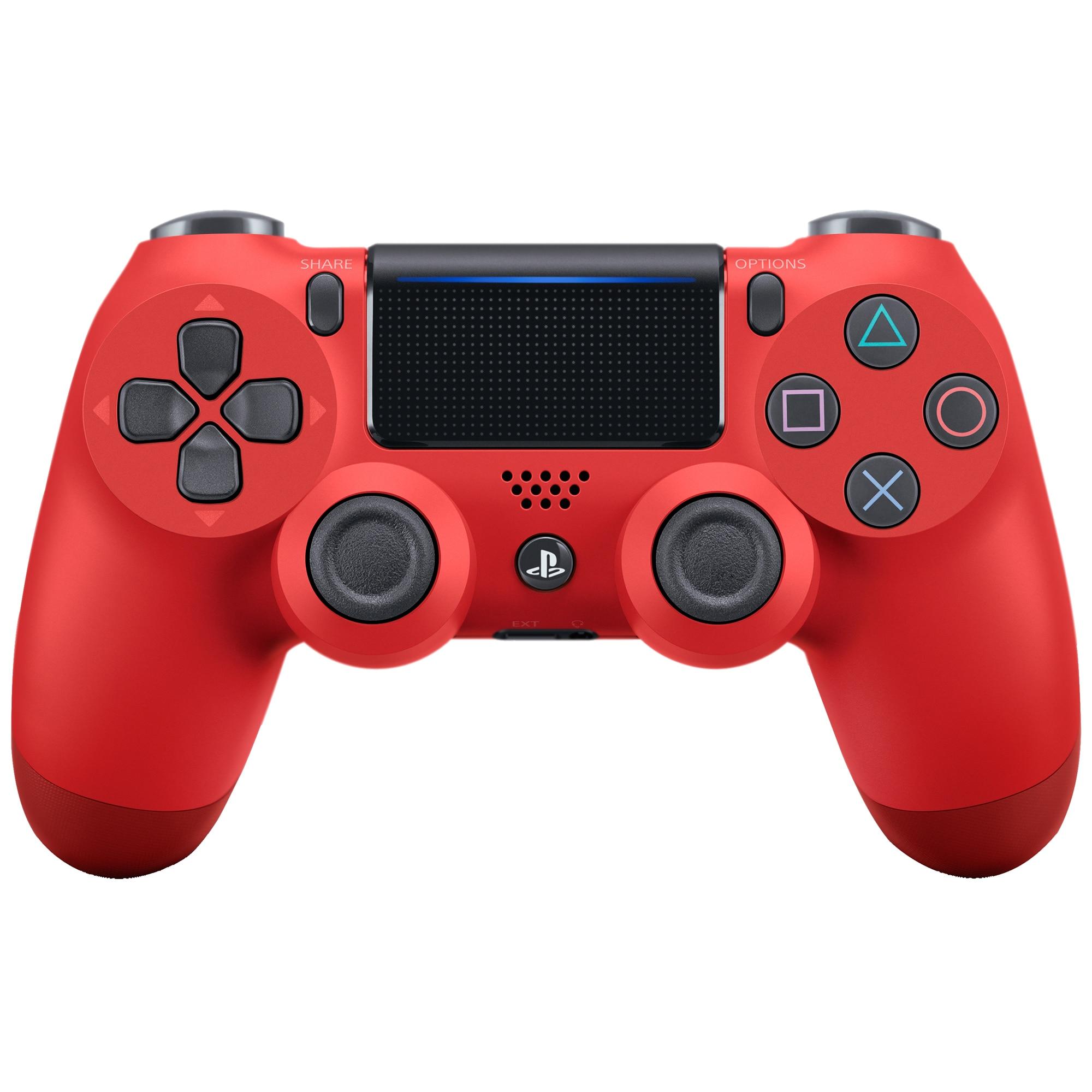 Fotografie Controller Sony Dualshock 4 V2 pentru Playstation 4, Magma Red