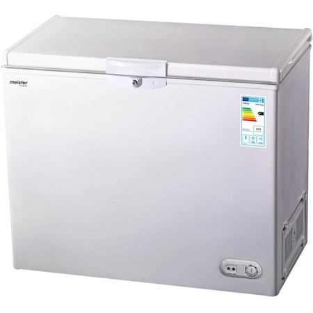 Lada frigorifica, meister Hausgerate, HRH-200E, Capacitate: 180 l, Abilitate de congelare: 12kg/24h, Culoare - Alba
