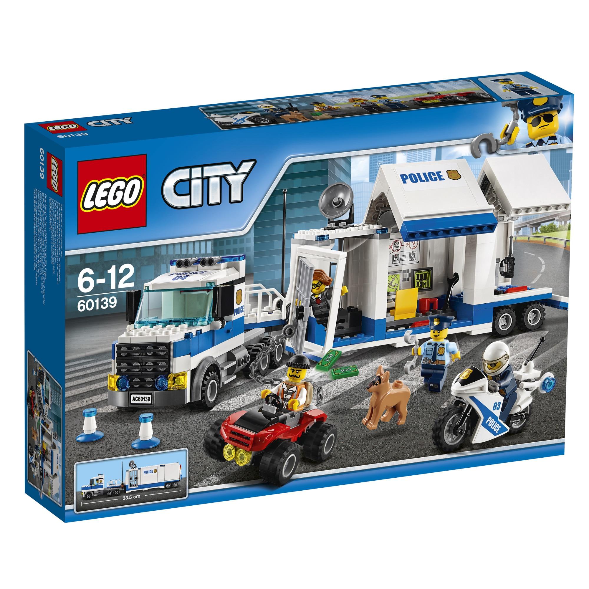 Fotografie LEGO City Police - Centru de comanda mobil 60139