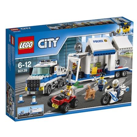 LEGO® City Police Мобилен команден център 60139