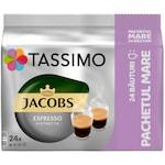 Capsule cafea, Jacobs Tassimo Espresso Ristretto, 24 bauturi x 50 ml, 24 capsule