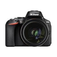 Nikon D5600, Obiectiv 18-105mm VR, Negru