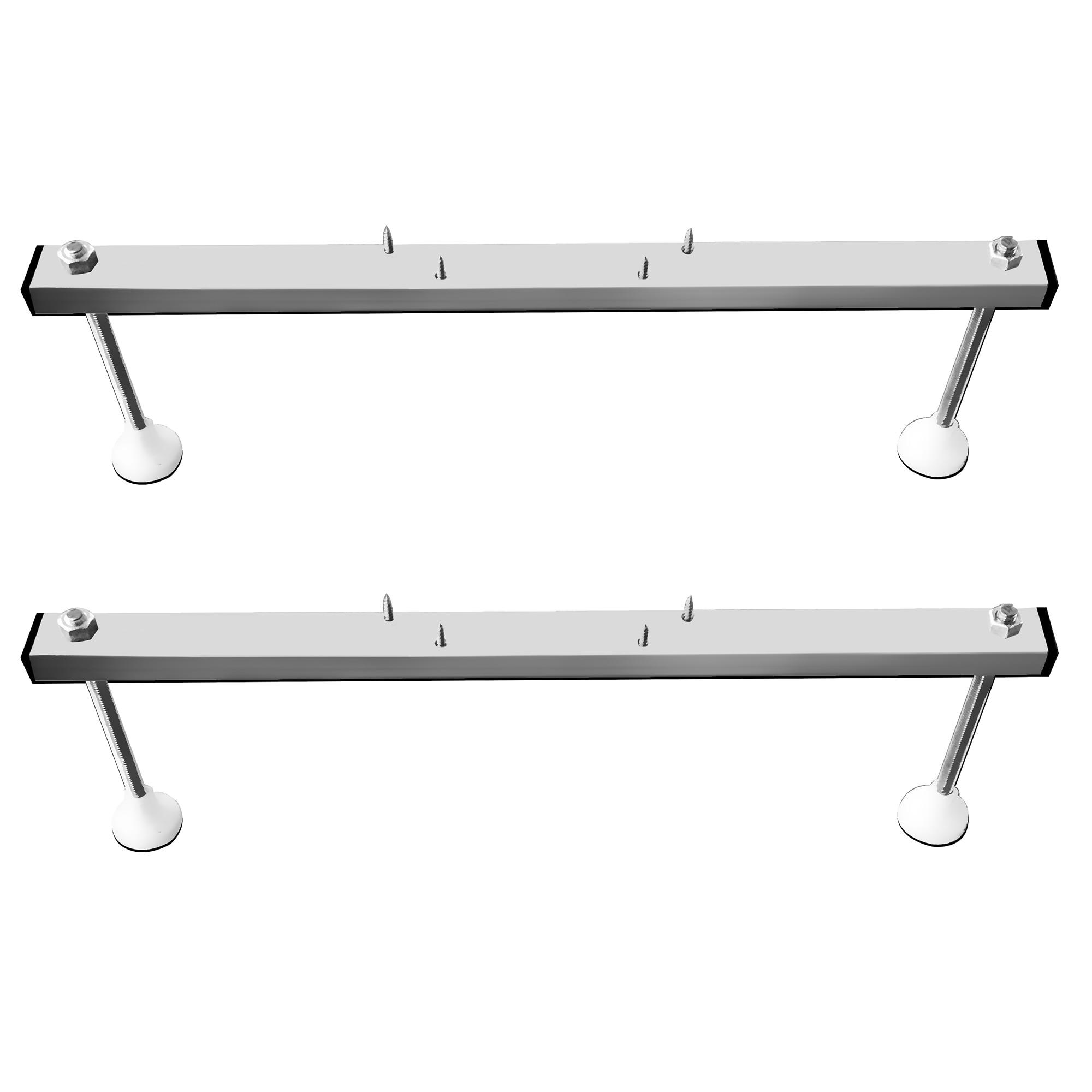 Fotografie Suport metalic Kring Smart 1, pentru cazi rectangulare cu lungime 120-180cm si latime maxim 80cm
