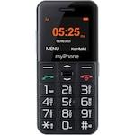 Мобилен телефон MyPhone Halo Easy, Black