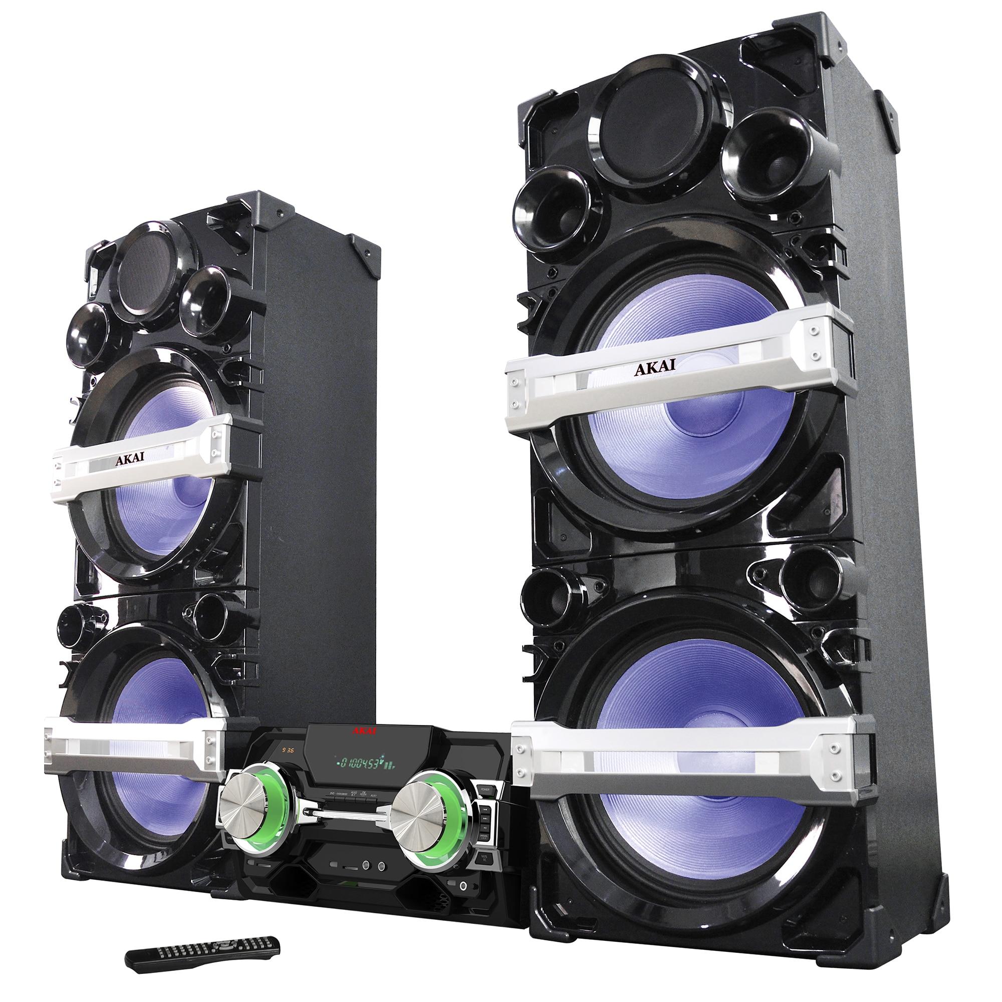 Fotografie Sistem audio Akai, AHT-38A5, Bluetooth, Radio, USB/SD, Negru