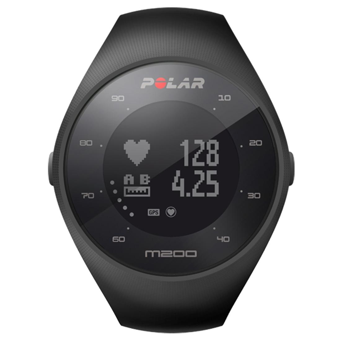 Fotografie Ceas smartwatch Polar M200, HR, Medium/Large, Black