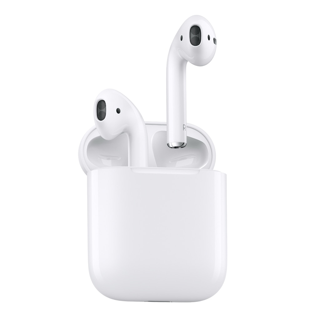 Fotografie Casti Apple AirPods, Bluetooth, Alb