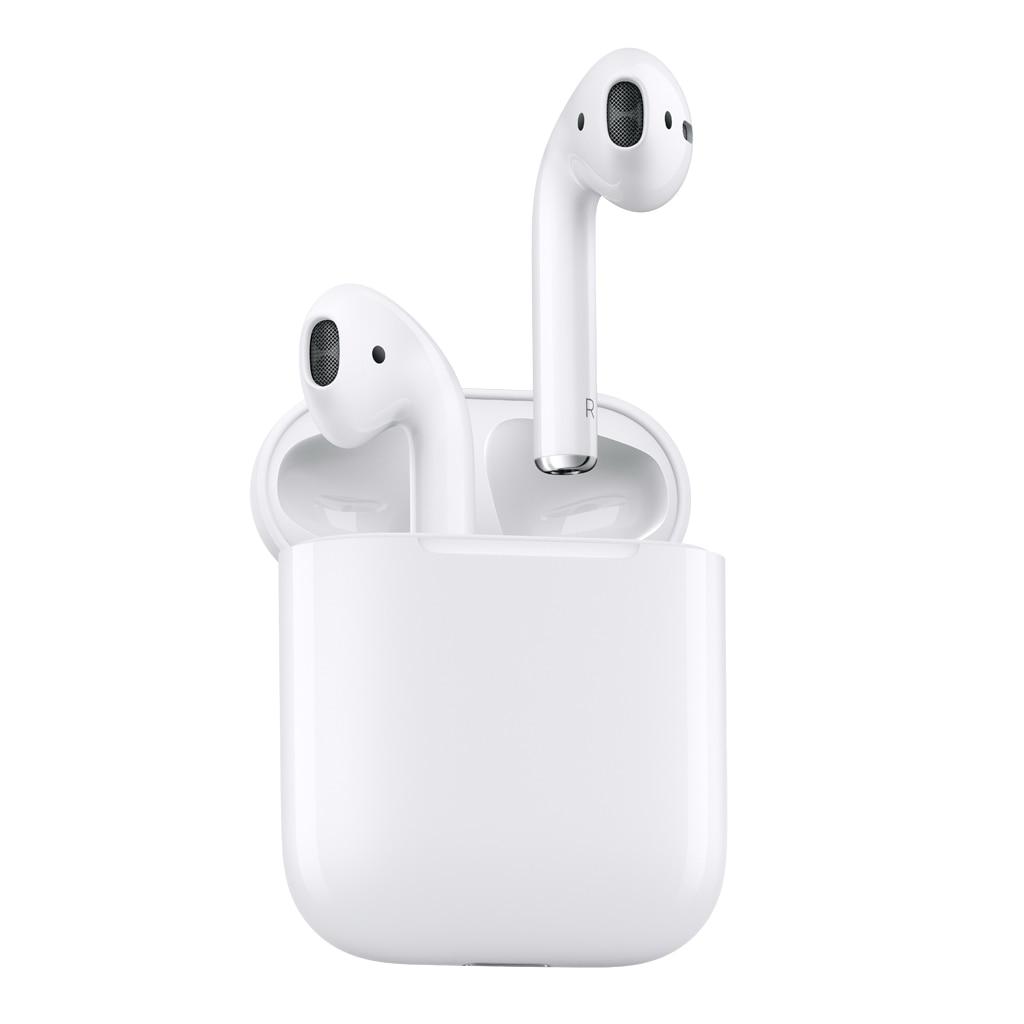 Fotografie Casti Apple AirPods, Bluetooth, Alb