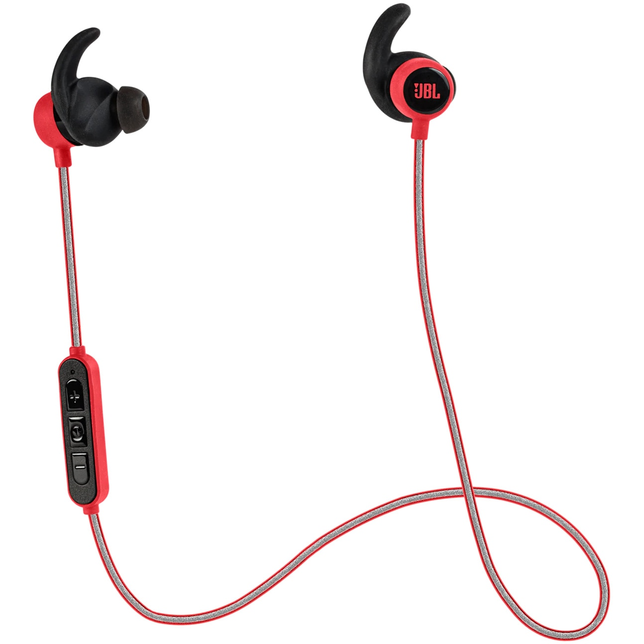 Fotografie Casti Audio In ear JBL Mini, Wireless, Bluetooth, Functie bass, Autonomie 8 ore, Rosu