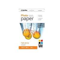 ColorWay Fotópapír, high glossy, 230 g/m, 10x15, 100 oldal